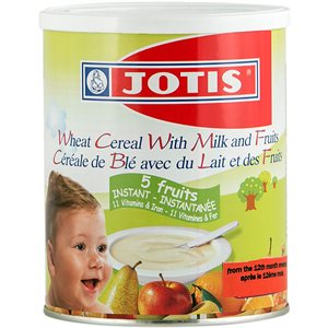 JOTIS Wheat Cereal with Milk & Fruit 300g