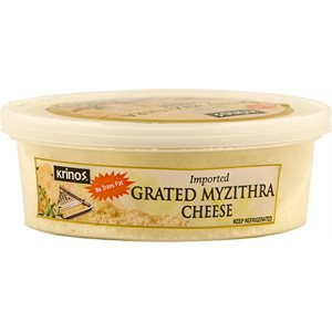 KRINOS Grated Myzithra Cheese 4oz