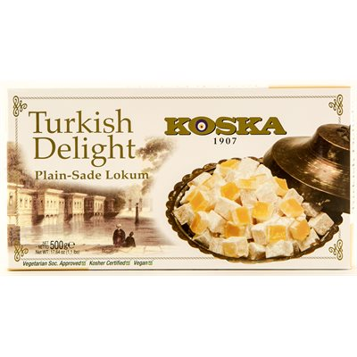 KOSKA Turkish Delight Plain Lokum 500g