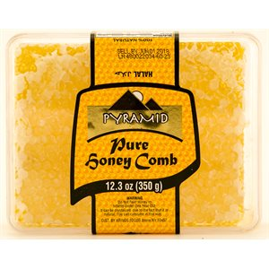 PYRAMID Honey with comb 350g