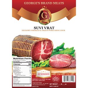 GEORGE'S Smoked Dried Pork Shoulder (Suvi Vrat) Appr 20lb
