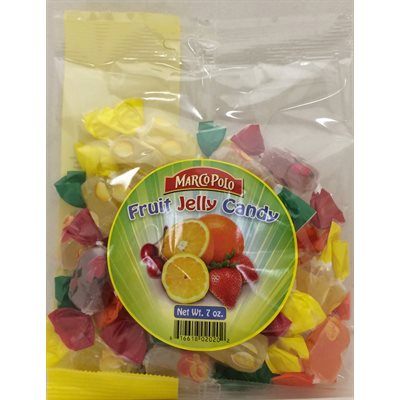 MARCO POLO Fruit Jelly Candy 7oz