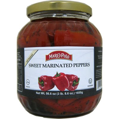 MARCO POLO Sweet Marinated Peppers 56oz